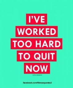 Just. Keep. Going. #motivation