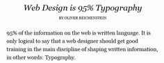 Mobile Design Typography is Vitally Important … and Challenging