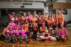 Dunedin Derby versus Ritcher City. November 2013.  Blog, photos, roller derby joy.