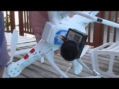 Affordable drone without a gimbal.  This is the most affordable drone without a gimbal that works great for filming with a GoPro camera.  Please share and be sure to check out my other DJI Phantom videos too!  Filmed with Nikon CoolPix AW110 camera.