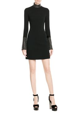 Dress with Stud Embellishment look detail