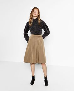 REVERSIBLE MIDI SKIRT-View all-SKIRTS-WOMAN | ZARA United States