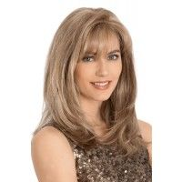 Shop beautiful wigs for women in the latest hairstyles; Browse synthetic & human hair, for white or black women in every length and color! Discover our stylish women's wigs for sale today! Medium Hair Styles, Natural Hair Styles, Short Hair Styles, Updo Styles, Monofilament Wigs, Long Wigs, Short Wigs, Stylish Hair, Synthetic Wigs