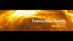 Fandalis FX Artist RND Reel 2013