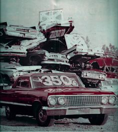 Diagnosed with Nostalgia: Photo Old Muscle Cars, American Muscle Cars, Detroit Cars, Great America, Chevy Chevrolet, Denial, Golden Age, Nostalgia, Old Things