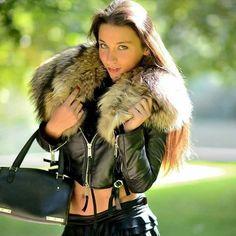 Fetish Fashion, Fur Fashion, Winter Fashion, Womens Fashion, Chinchilla, Thigh High Boots Heels, Fur Clothing, Fox Fur Coat, Glamour