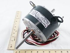 HC35CE234  Carrier, Bryant, Payne 1/8 HP, 208-230V, 1 PH, 1050/900 RPM, 2 Speed, PTAC Fan Motor Replacement  http://www.airconditionercenter.com/hc35ce234/