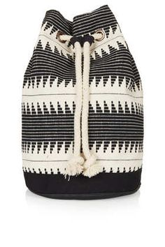 Top Shop - Zig Zag Duffle Backpack