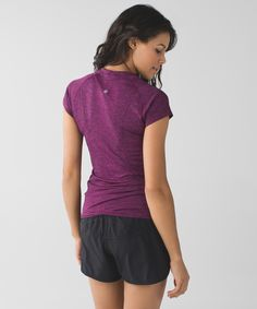Lululemon Swifty. Heathered Raspberry