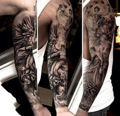 27 Themed Tattoo Sleeves That Are Basically Works Of Art | Tattoo Sleeves, Work Of Art and Tattoo