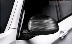 2014 2015 For BMW X5 F15 Side Door Rearview Mirror Covers Trim Carbon Fiber 2pcs