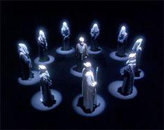 Babylon 5 - The Gray Minbari Council . Fantasy Shows, Fantasy Series, Sci Fi Fantasy, Fake Geek Girl, Science Fiction, Best Sci Fi Shows, Babylon 5, Sci Fi Series, Classic Sci Fi