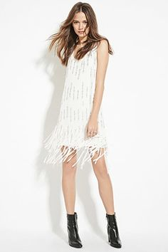 f21 Contemporary Sequined Shift Dress