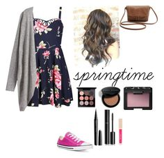 """""""spring outfit"""" by alexbetancourt on Polyvore featuring Ally Fashion, Converse, MAC Cosmetics, Bobbi Brown Cosmetics, NARS Cosmetics, Chanel, Stila and Marc Jacobs"""
