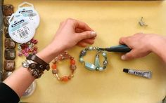 This How to String Beads Impeccably jewelry making video shows you exactly what sort of materials to use when beading as well as the ultimate jewelry making hack to secure your knots tight.