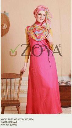 Baju Lebaran Terbaru Zoya 2014   Cantik Berbaju Muslim