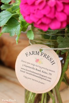 Farm Fresh - their blog about a little honor system farm stand. Fresh heirloom flowers and vegetables. Love, love, love!