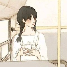 Find images and videos about girl, cute and anime on We Heart It - the app to get lost in what you love. Art And Illustration, Art Sketches, Art Drawings, Avatar Couple, Korean Art, Couple Art, Aesthetic Art, Copic, Kawaii Anime