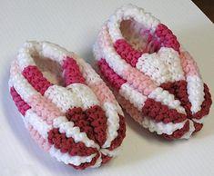 Creative Knitting, Knitting For Kids, Knitting For Beginners, Loom Knitting, Knitting Socks, Baby Knitting, Knitting Patterns, Crochet Patterns, Kids Slippers