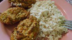 Mrkvovo-zeleninové placičky Mozzarella, Grains, Rice, Meat, Chicken, Food, Beef, Meal, Essen