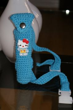 Hand made Epi pen Holder with Adjustable Belt    by knitbabylady, $15.99 Best Pens, Pen Holders, Allergies, Hello Kitty, Old Things, Crochet Hats, Medical, Belt, Wool