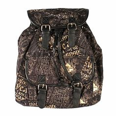 Harry Potter Solemnly Swear Slouch Backpack Hot Topic