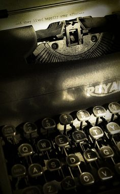 I so would love an old typewriter!   Love the massage as well!
