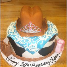 Western princess cake