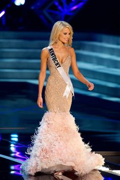 miss kentucky, miss usa, pageant evening gown, pageant evening wear