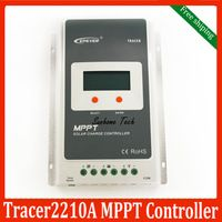 EPsolar Tracer2210A LCD MPPT 20A 100V solar charge controller  EPsolar Tracer 2210A new Charge controllers