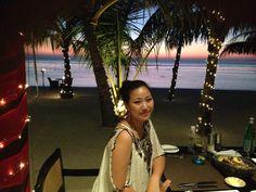In Maldives.. Unforgettable sunset!!