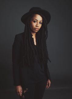 ... Jennah Bell look! All black everything! Photo: Lauren Desberg