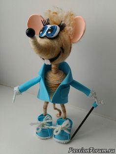 Модный Крыс - запись пользователя nik19257 (Наталья Никитина (Хлюнева)) в сообществе Мир игрушки в категории Разнообразные игрушки ручной работы