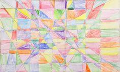 Liliana's geometric pattern (aged 6)