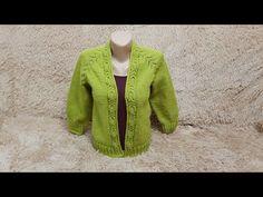 Raglan tricotat. Cardigan tricotat. Partea 4. - YouTube Knitting Videos, Fur Coat, Sweaters, Youtube, Fashion, Knitting Tutorials, Knitting Sweaters, Tejidos, Tricot