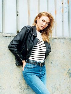 Karlie Kloss Brings Her NYC Cool to Topshop's Latest Campaign via @WhoWhatWearUK
