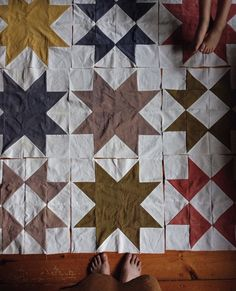Patch Quilt, Quilt Blocks, Textiles, Quilting Projects, Sewing Projects, Quilt Stitching, Star Quilts, Quilt Cover, Quilt Patterns