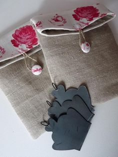 like the juxtaposition between burlap and floral