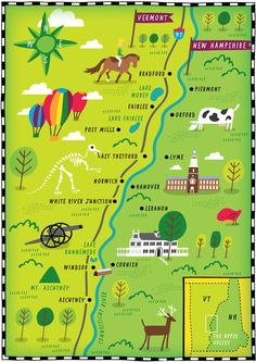 Pin By Diana McNeil On Home State Of New Hampshire Pinterest - Map of vermont and new hampshire