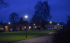 Vejen, Denmark- Lighting products: iGuzzini Illuminazione – Products: Twilight Canberra – Lighting project: Solar  - Photo: Preben Matthiesen #iGuzzini #Lighting #Light #Luce #Lumière #Licht #Urban #Residential #Twilight