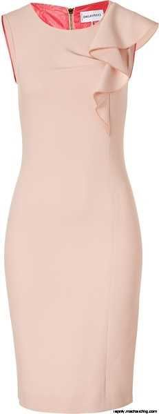 PUCCI Colonial Rose Wool Sheath Dress � Lyst