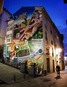murales everywhere in vitoria-gasteiz Murals Street Art, Street Art Graffiti, Mural Art, Wall Mural, Street Art Quotes, Street Photography, Art Photography, Sidewalk Chalk Art, Urban Street Art