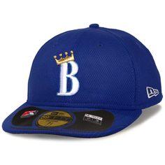 a3fe64a8a16 Burlington Royals New Era Low Crown Diamond Era Fitted Hat - Royal