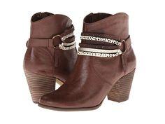 Bella-Vita Kolleen Dark Brown Leather - 6pm.com