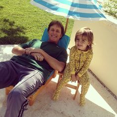 Mason Disick (pictured with step-grandfather Bruce Jenner; celeb parent: Kourtney Kardashian)