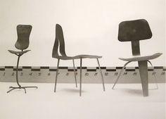 Miniature Mock-Ups, Designed by Harry Bertoia (Eames office), 1940s