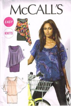 McCall's M6704, Misses Dresses, Tops, Size Lrg, XLG, XXL, Plus Size, Out Of Print by OhSewWorthIt on Etsy