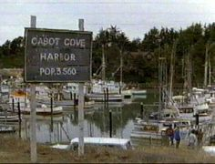 Cabot Cove - Murder She Wrote--FILMED IN MENDICINO CALIFORNIA. WENT THERE,LOOKS JUST LIKE CABOT COVE--BEAUTIFUL PLACE