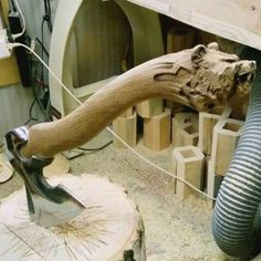 Making an axe handle is an old skill from long before you could purchase a pre-finished handle from the hardware store. Back then, the axe head was handmade and so was the handle. Today axe is just… Axe Handle, Viking Axe, Whittling, Knives And Swords, Knife Making, Blacksmithing, Wood Carving, Metal Working, Woodworking Projects