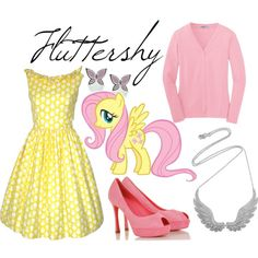 fluttershy. I want the necklace!!!!